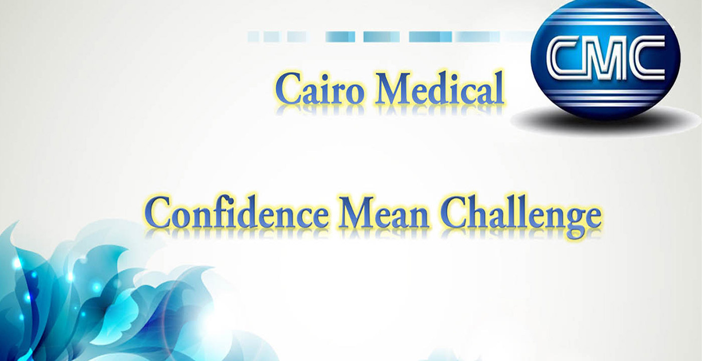 Cairo Medical    Confidence Mean Challenge